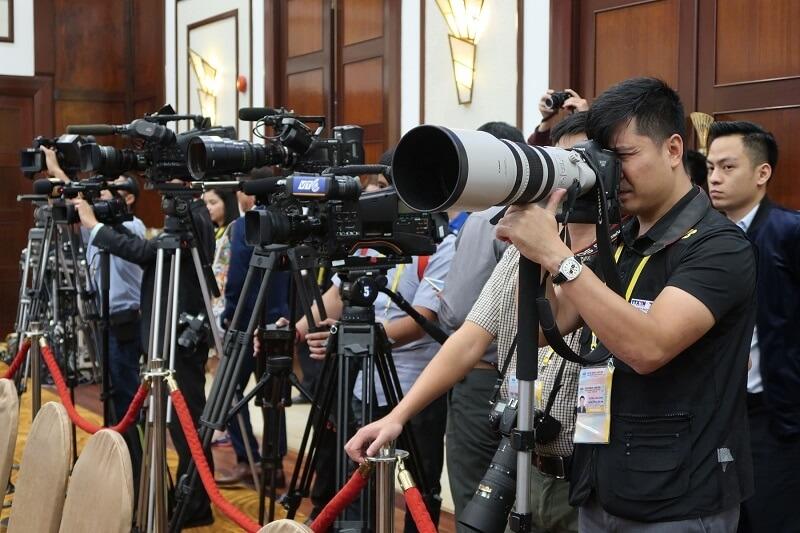 Báo chí được tạo điều kiện tác nghiệp tại Việt Nam ( Ảnh minh họa)