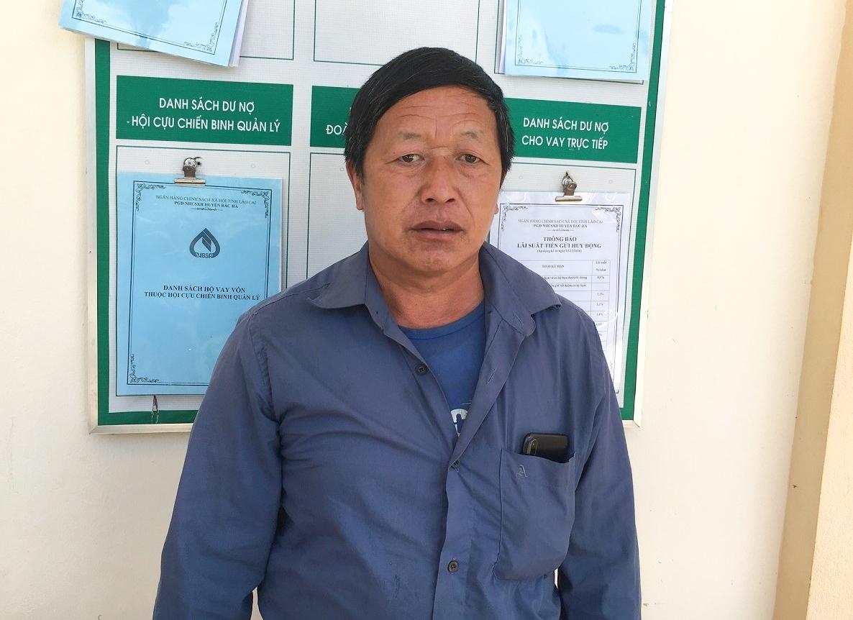 Ông Lồ Seo Lử, Người có uy tín, Trưởng thôn Tả Thồ 1, xã Hoàng Thu Phố, huyện Bắc Hà, (Lào Cai)
