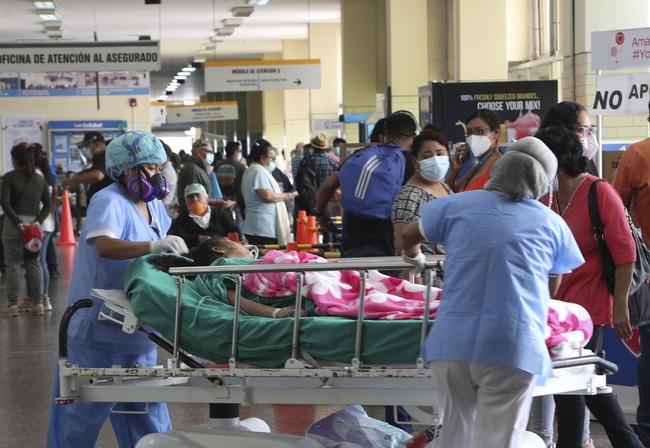 Hơn 171,8 triệu người trên thế giới đã nhiễm virus SARS-CoV-2. (Ảnh: AP)