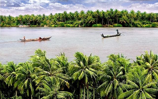Bến Tre- xứ sở của cây dừa (Ảnh TL)
