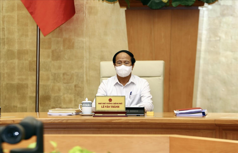 Phó Thủ tướng Lê Văn Thành Chủ trì Hội nghị trực tuyến toàn quốc về công tác PCTT năm 2021