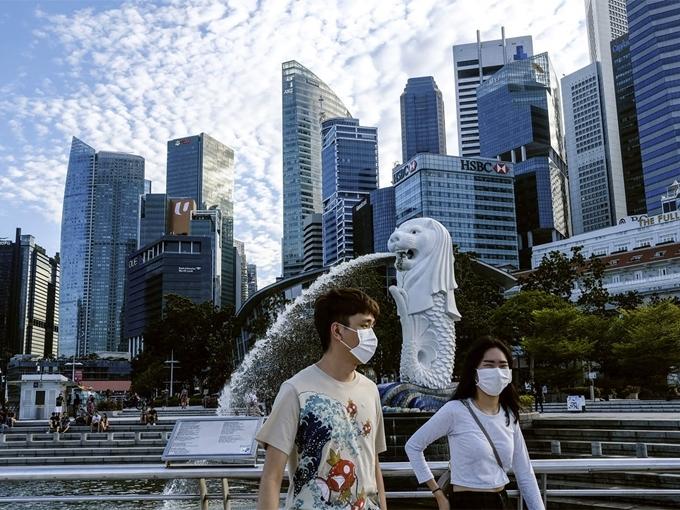 Singapore ghi nhận số ca mắc mới trong ngày cao nhất kể từ ngày 16/5. (Ảnh: Economic Times)