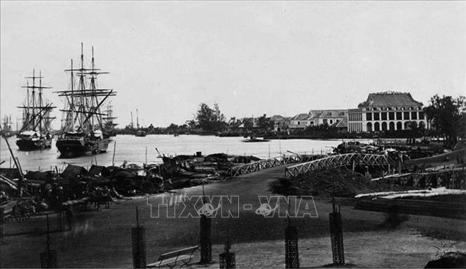 Ngày 5/6/1911, từ Bến Nhà Rồng (ảnh), Nguyễn Tất Thành đã rời Tổ quốc, bắt đầu cuộc hành trình tìm con đường giải phóng dân tộc, giải phóng đất nước. Ảnh: Tư liệu/TTXVN phát