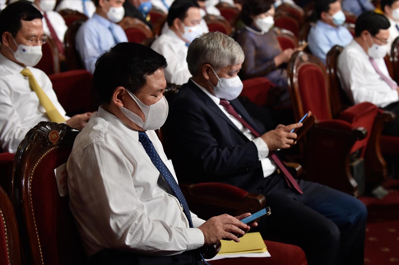Lãnh đạo các Bộ, ngành Trung ương nhắn tin ủng hộ cho Quỹ vaccine phòng chống COVID-19 của Chính phủ thông qua cổng 1400.