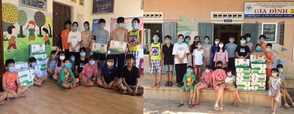 Quỹ sữa Vươn cao Việt Nam năm 2021 cũng đang tích cực triển khai việc trao sữa đến trung tâm bảo trợ, nhà mở tại 26 tỉnh thành trên cả nước