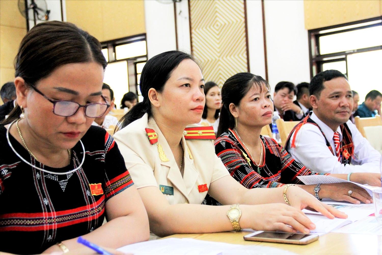 Từ việc quan tâm phát hiện và bồi dưỡng, nhiều thế hệ cán bộ trẻ ở huyện Nam Giang đã dần trưởng thành, tích cực góp sức cho phát triển quê hương