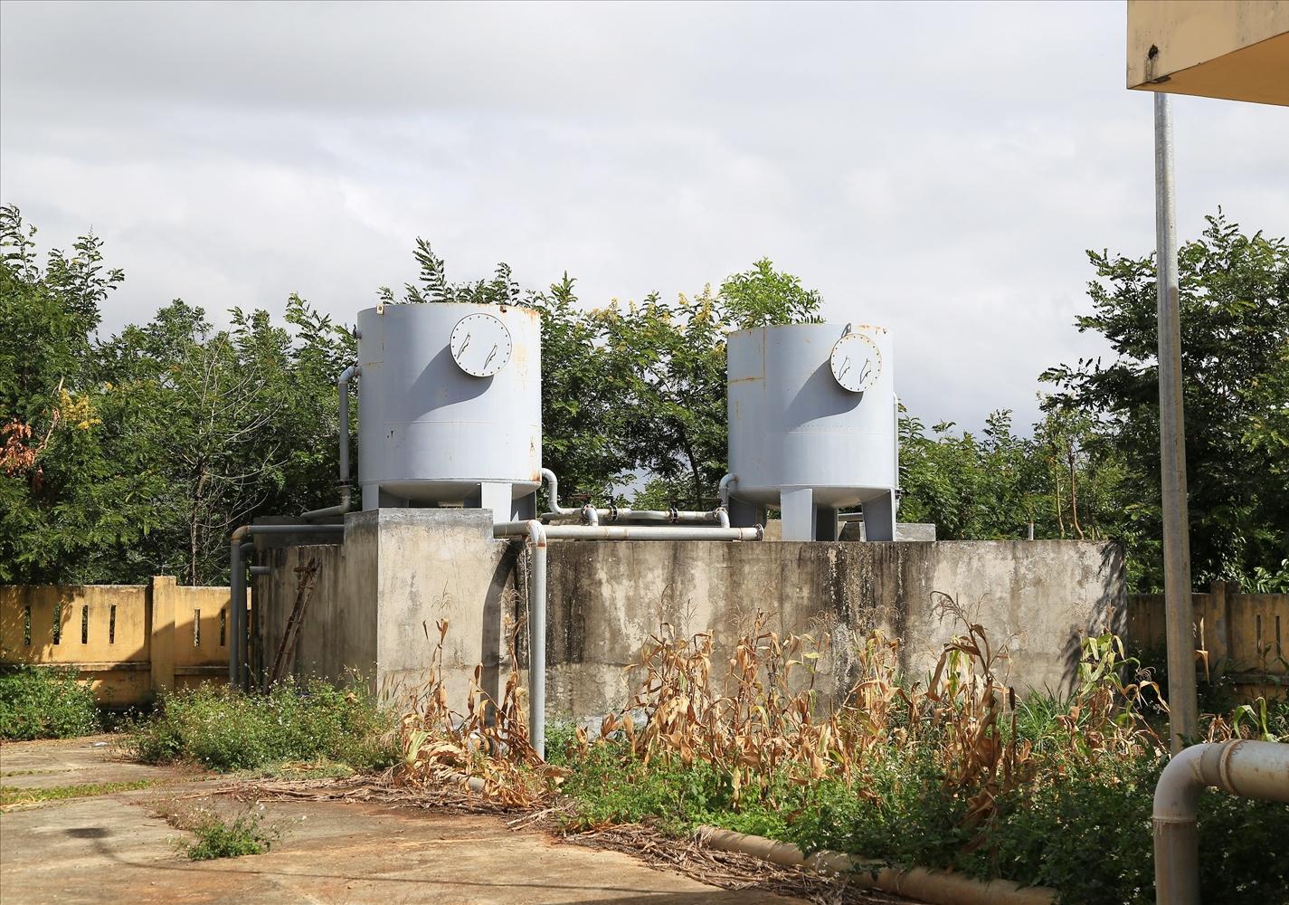 Công trình nước sạch ở xã Ea Pô bỏ hoang