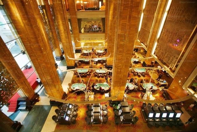 Casino Nagaworld là sòng bài lớn nhất Campuchia. Ảnh minh họa