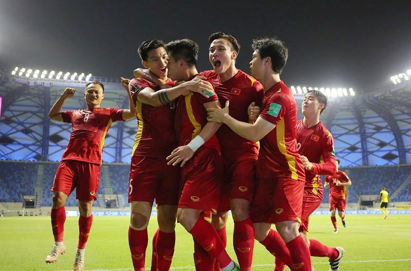 Đội tuyển Việt Nam mở rộng cánh cửa vào Vòng loại cuối World Cup 2022. (Ảnh: VFF)