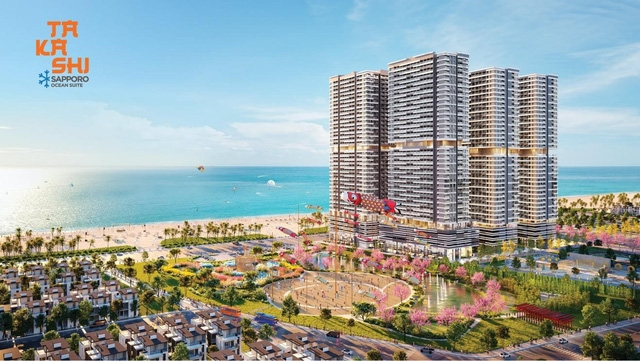 Đại đô thị ven biển Takashi Ocean Suite Kỳ Co sở hữu vị thế vàng bên bờ vịnh thiên đường
