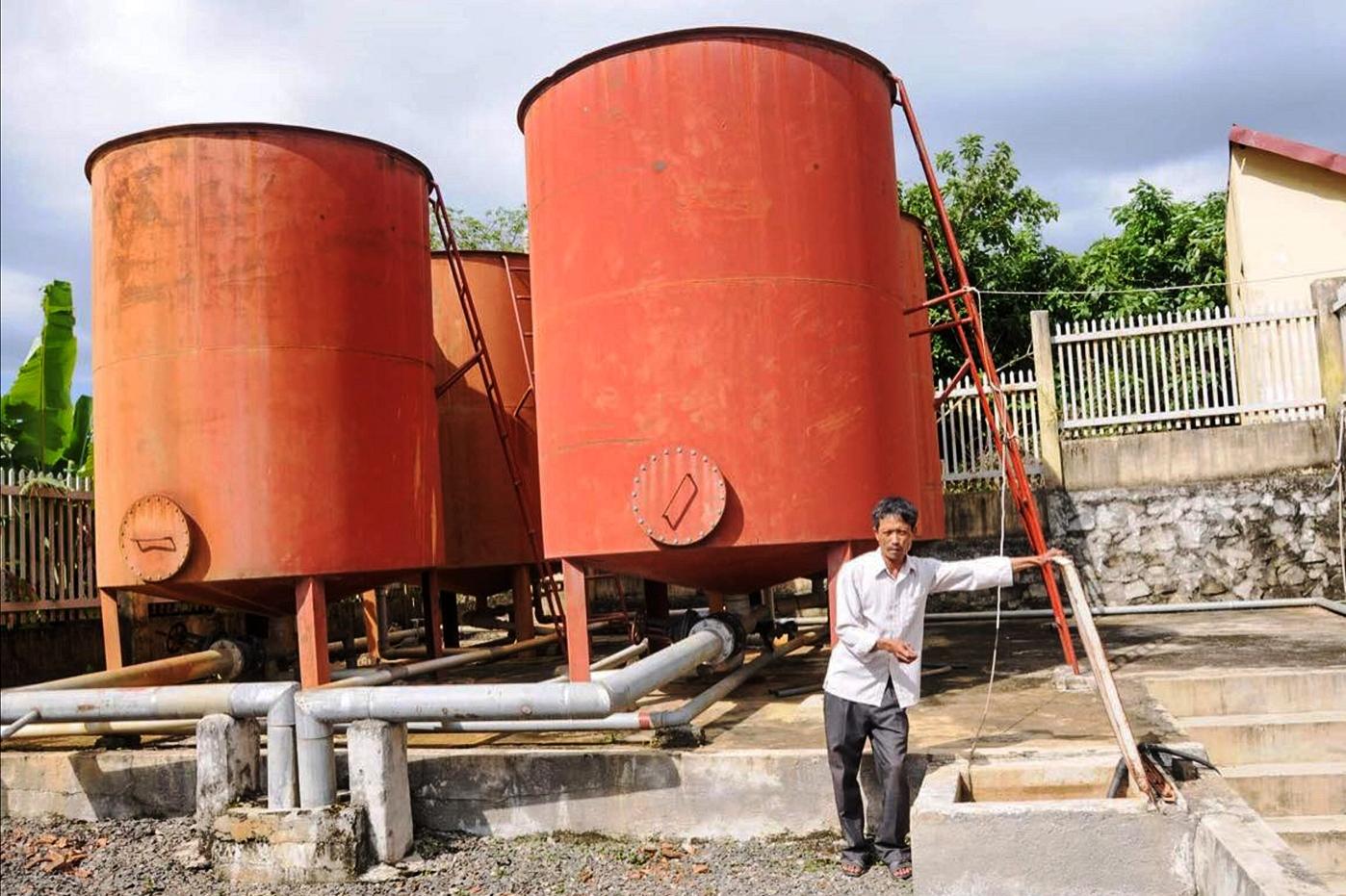 Công trình nước sinh hoạt tập trung huyện Đức Xuyên, tỉnh Đắk Nông bỏ hoang nhiều năm