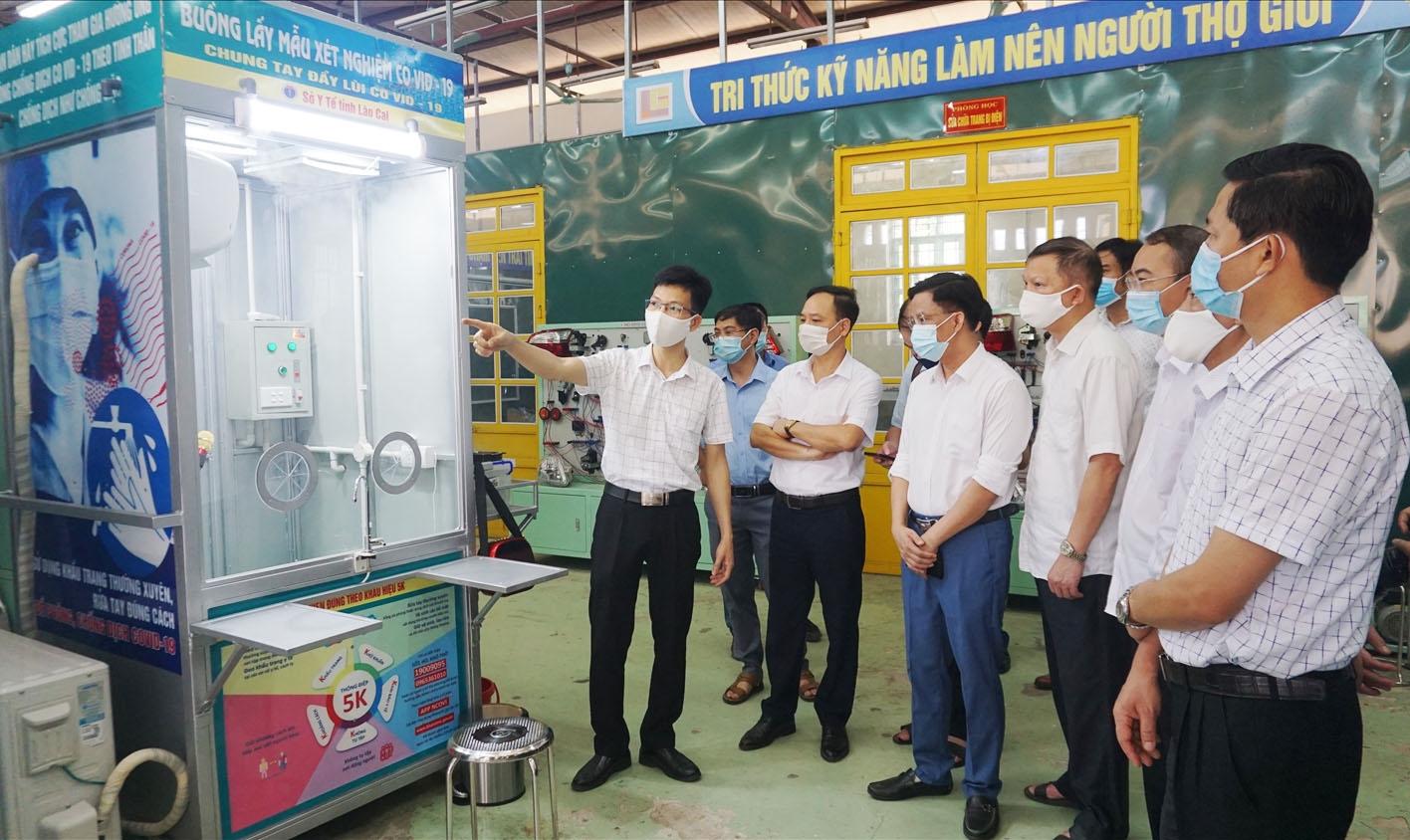 Hai ca bin sẽ được ngành y tế Lào Cai đặt tại Cửa khẩu Quốc tế Kim Thành và Chốt kiểm dịch 237 đường cao tốc Nội Bài-Lào Cai