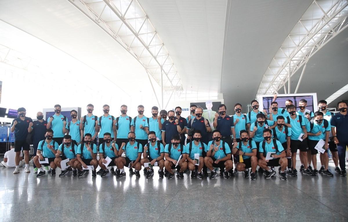 Đội tuyển Việt Nam được rút ngắn thời gian cách ly y tế sau khi trở về nước.
