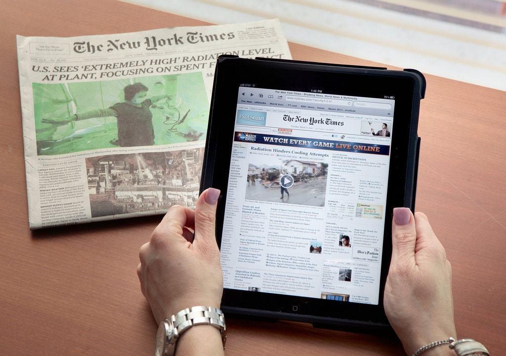 Nhiều tờ báo quốc tế đã thành công với mô hình thu phí độc giả