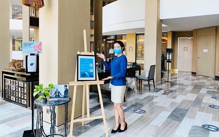 Hướng dẫn kiểm tra điểm đến an toàn trên ứng dụng Du lịch Việt Nam an toàn tại các khách sạn