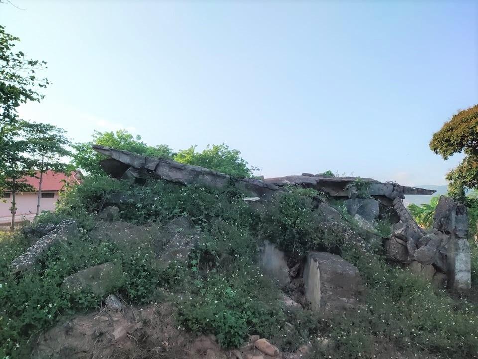 Một đống bê tông, cốt thép, chứng tích của nhà C