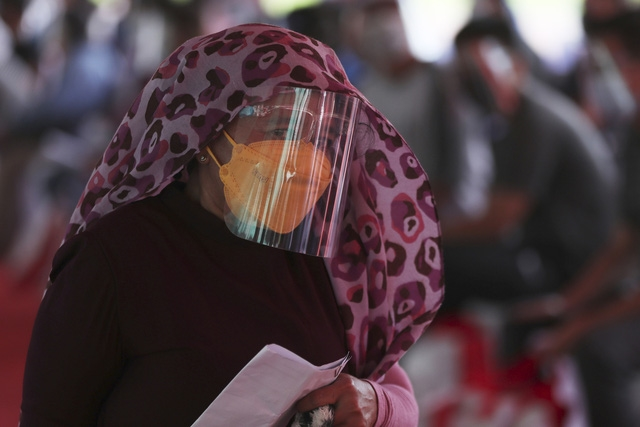 Indonesia ghi nhận 21.342 trường hợp mắc mới trong ngày 27/6, cao nhất từ trước tới nay. (Ảnh: AP)