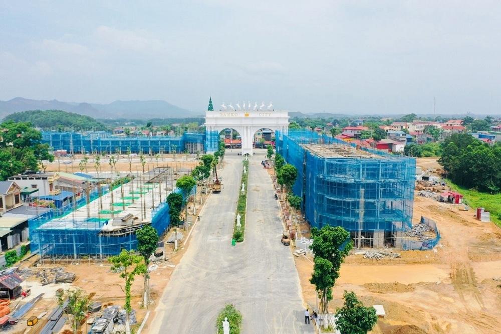 Dự án đầy đủ hạ tầng và sản phẩm đang được hoàn thiện tiếp tục hút nhà đầu tư.