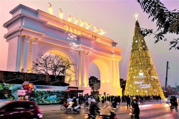Cổng chào The Light - biểu tượng mới của Thái Nguyên.