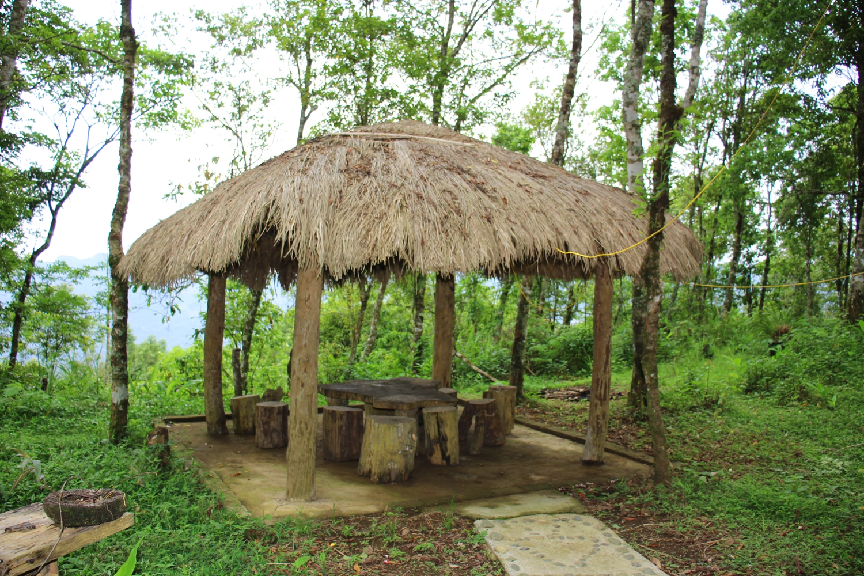 Nhà chòi-nơi nghỉ chân của du khách