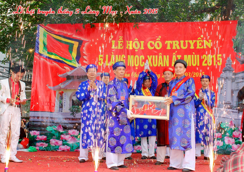Lễ hội Năm làng Mọc: Nét đẹp làng quê giữa chốn đô thành 3