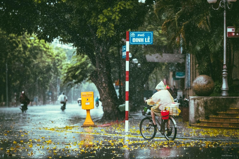 Theo dự báo, thời tiết ngày 19/7 khu vực Bắc Bộ và Thanh Hóa có mưa to và dông (Ảnh minh họa)