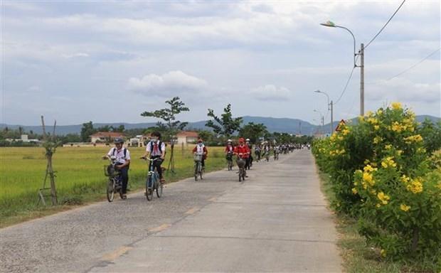 Một tuyến đường giao thông nông thôn. (Nguồn: TTXVN)