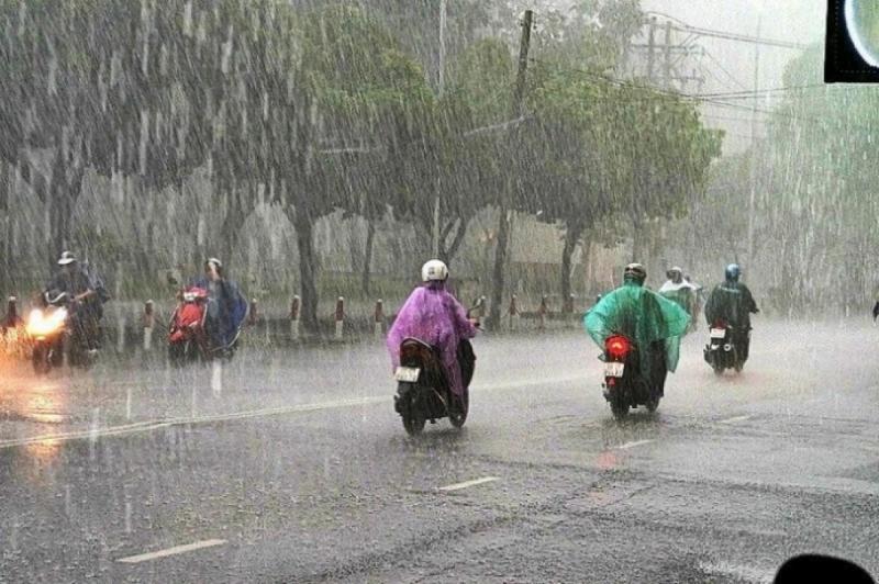 Dự báo thời tiết ngày 27/7, vùng núi Bắc Bộ có mưa rào và dông, nguy cơ xảy ra lũ quét, sạt lở đất. Ảnh: Internet