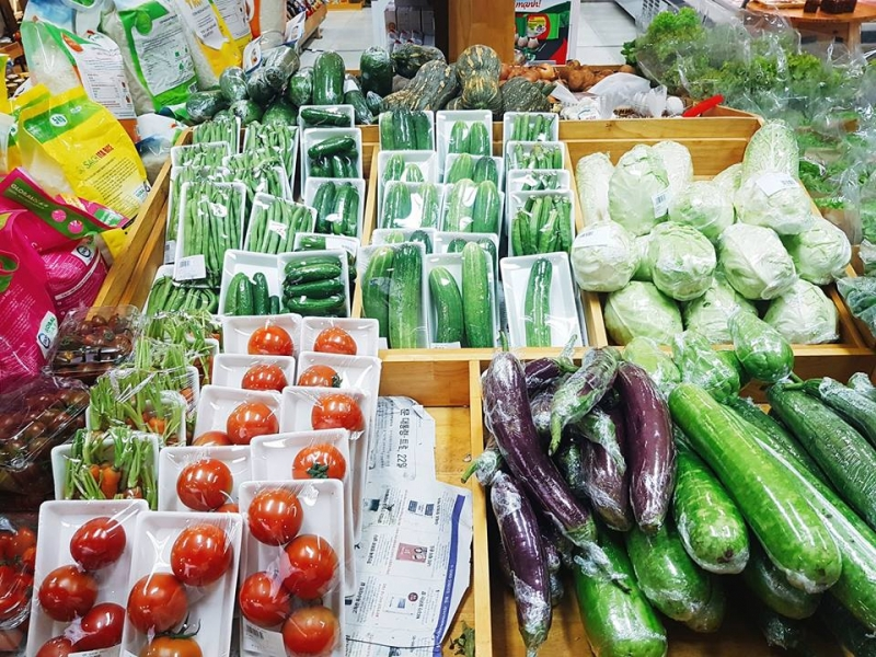 Hàng hóa nông sản, thực phẩm thiết yếu dồi dào đáp ứng nhu cầu của người dân