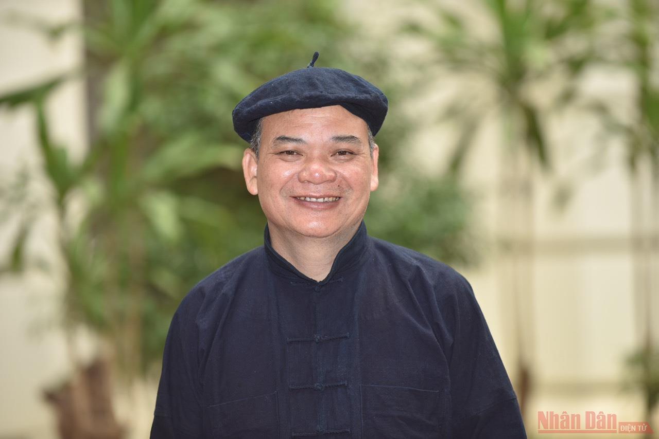 Tỷ phú người dân tộc Ngái, ông Lê Quang Nghìn. (Ảnh: TRẦN HẢI)