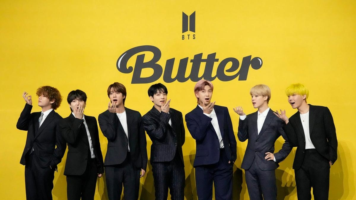 """Ca khúc """"Butter"""" đã chính thức đứng đầu bảng xếp hạng #Hot100 tuần này trong tuần thứ 6 liên tiếp. Ảnh: Reuters"""