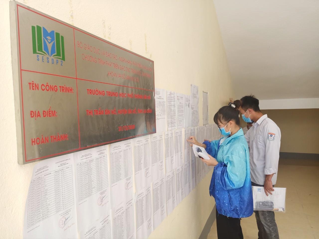 Sở GD&ĐT Lai châu dự kiến hoàn thành chấm thi vào ngày 22/7/2021. Ảnh: BGDTĐ