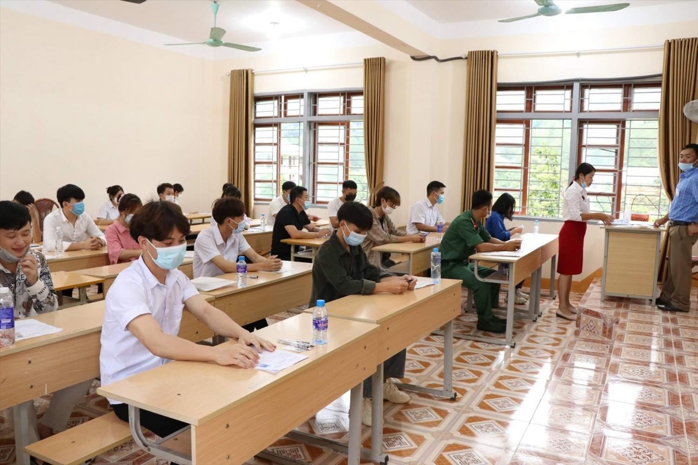 Các thi sinh tham dự đợt 1 Kỳ thi tốt nghiệp THPT đã diễn ra ngày 7-8/7/2021