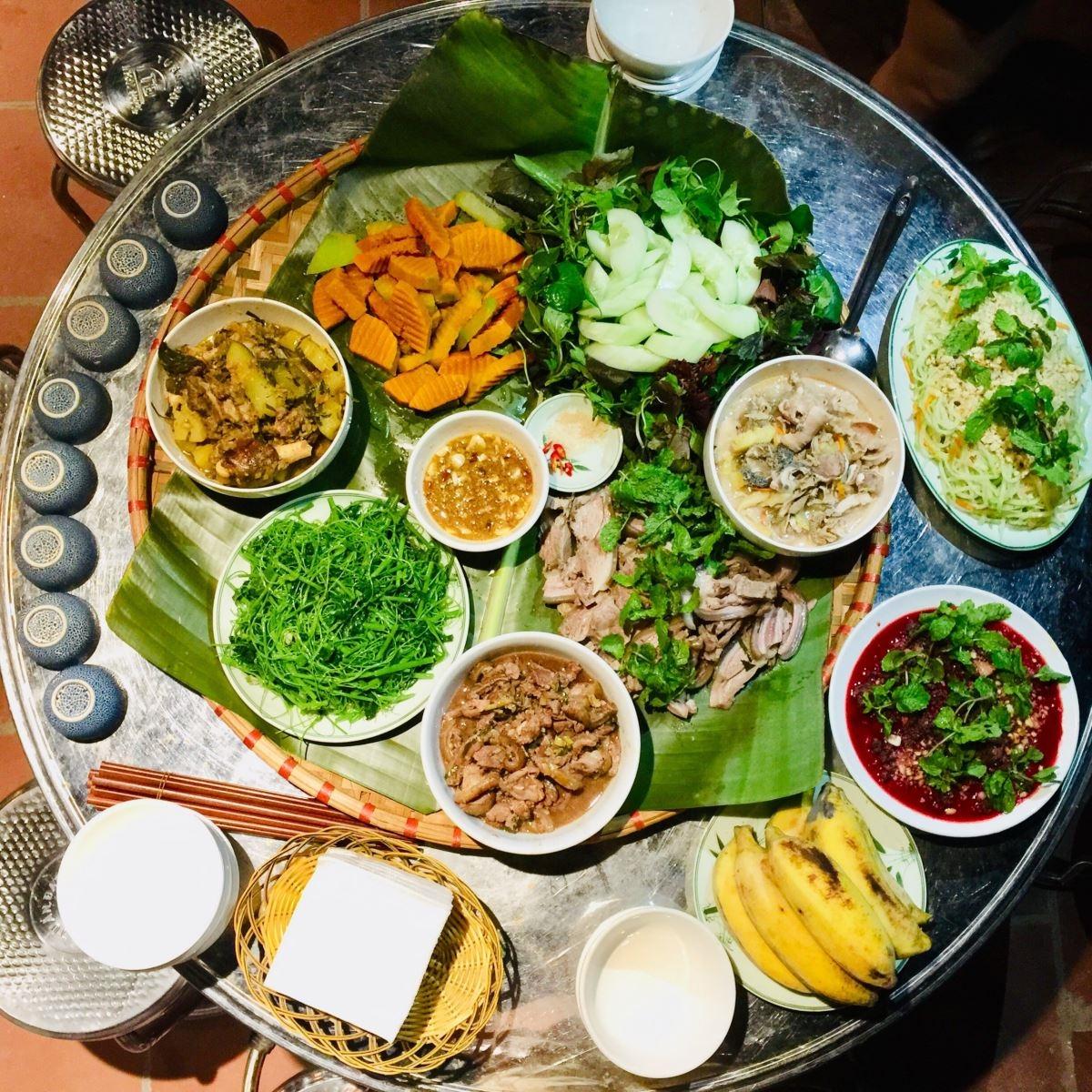 Đặc sản ẩm thực của người Tày ở Ba Bể