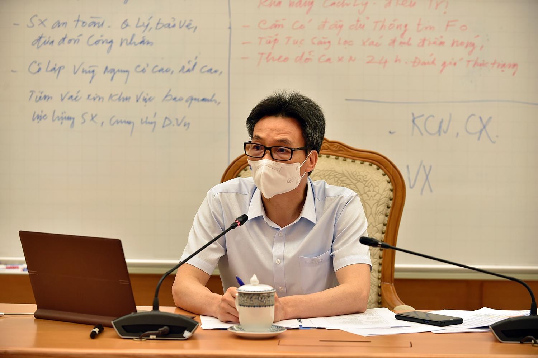 Phó Thủ tướng Vũ Đức Đam chủ trì cuộc họp - Ảnh: VGP/Đình Nam
