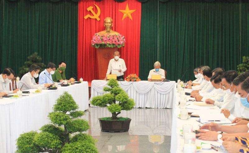 Phó Thủ tướng Thường trực Chính phủ Trương Hòa Bình phát biểu tại buổi làm việc với lãnh đạo chủ chốt tỉnh Đồng Nai