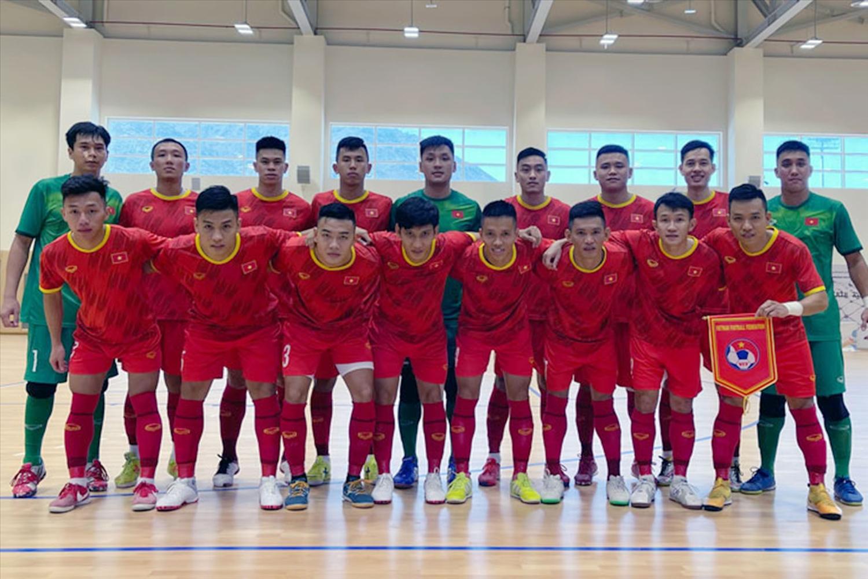 Đội tuyển futsal Việt Nam sẽ hội quân trở lại vào ngày 20/7 thay vì 2/8 như kế hoạch ban đầu. (Ảnh: VFF)