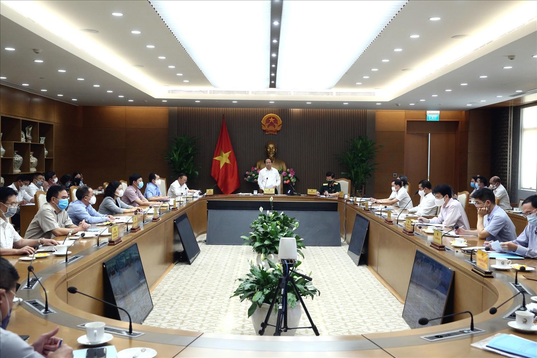 Cuộc họp lần thứ 5 của Ban Chỉ đạo quốc gia về IUU - Ảnh VGP/Đức Tuân