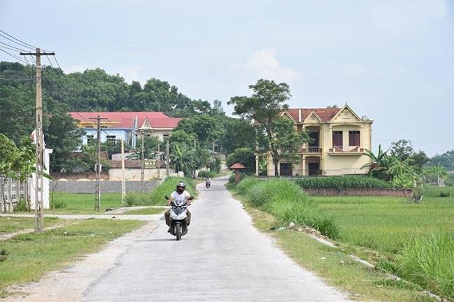 Đường đến xã Bồ Lý, huyện Tam Đảo hôm nay. (Ảnh TL)