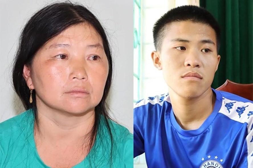 2 đối tượng Lò Thị Mỷ và Pờ Văn Ba vừa bị bắt vì hành tàng trữ, mua bán trái phép chất ma túy. Ảnh: Công an Lai Châu.