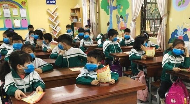 Từ ngày 19/7, học sinh Bắc Ninh trở lại trường học để thực hiện nhiệm vụ cuối năm học 2021-2022. (Ảnh minh họa)