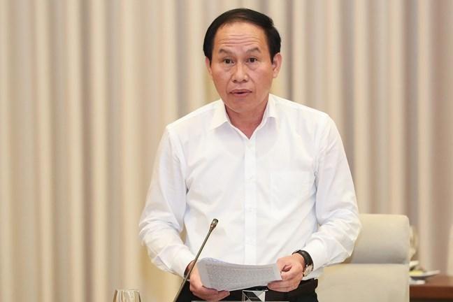 Phó Chủ tịch - Tổng Thư ký Lê Tiến Châu đưa ra một số kiến nghị để tiếp tục đổi mới, nâng cao chất lượng công tác tiếp xúc cử tri của đại biểu Quốc hội khóa XV trong giai đoạn mới