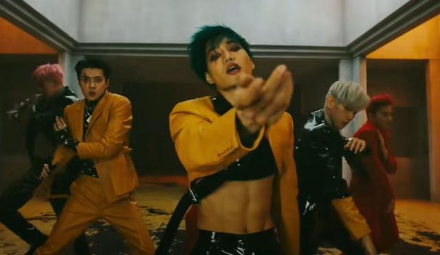 """Thành viên Kai của EXO nhảy trong video âm nhạc phát hành năm 2019 """"Obsession"""" của nhóm"""