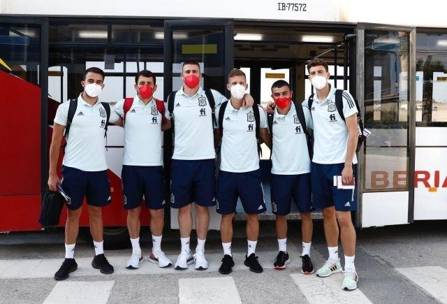 Các cầu thủ đội tuyển Tây Ban Nha. (Nguồn: football-espana.net)