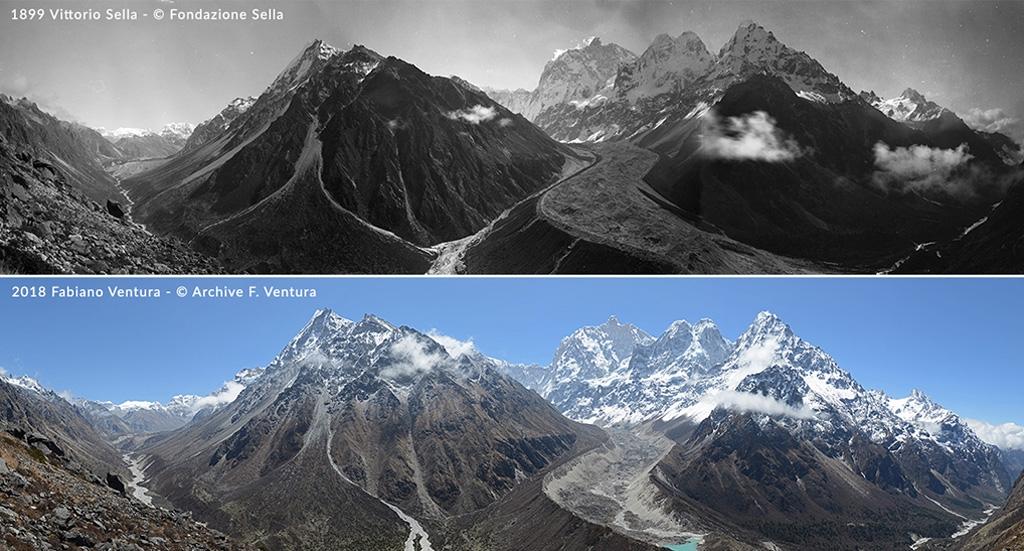 Những thay đổi của dãy Himalaya qua thời gian.