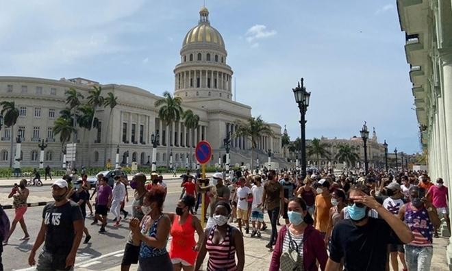 Nhiều thế lực xấu lợi dụng vấn đề biểu tình tại Cuba để kích động chống phá