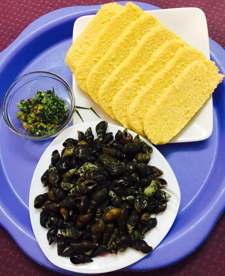Món ốc đực - đặc sản của đồng bào vùng cao huyện Minh Hóa