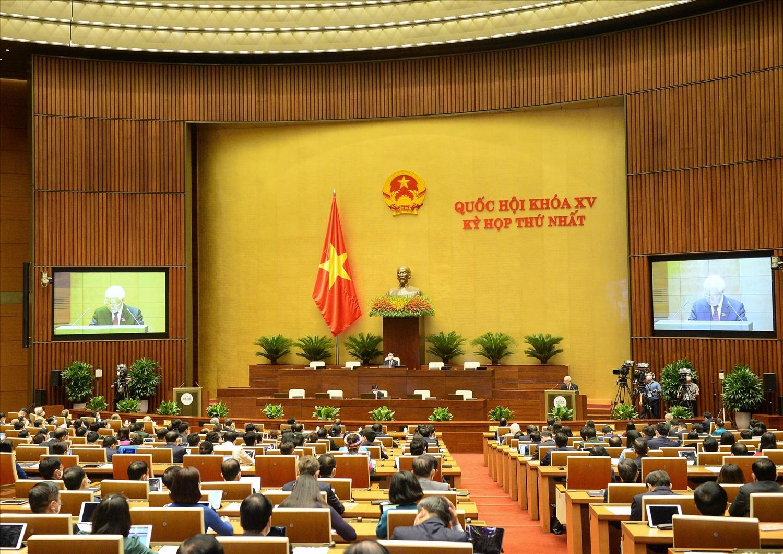 Kỳ họp thứ Nhất, Quốc hội khóa XV khai mạc sáng 20/7/2021