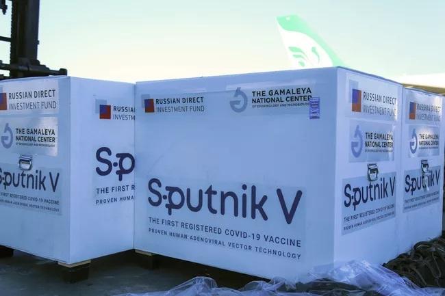 Vaccine Sputnik V của Nga. (Ảnh: AP)