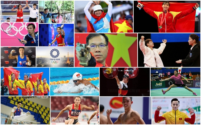Đoàn thể thao Việt Nam tham dự Olympic Tokyo ở 11 môn thi với 18 VĐV tranh tài